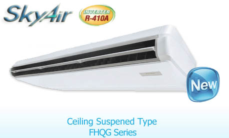 Daikin Fhqg Ceiling แอร์แขวนเพดาน R410a Inverter